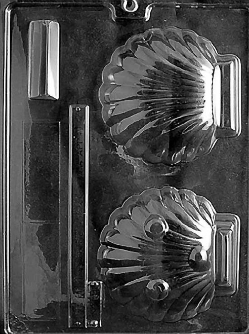 LOTP Clam Shell Chocolate Mold N007