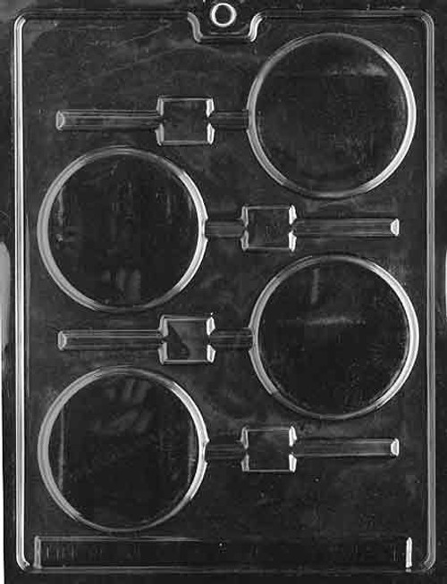 LOTP Plain Lolly Chocolate Mold M011