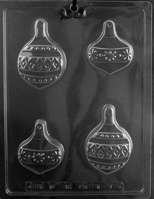 LOTP Ornament Cookie Chocolate Mold C471