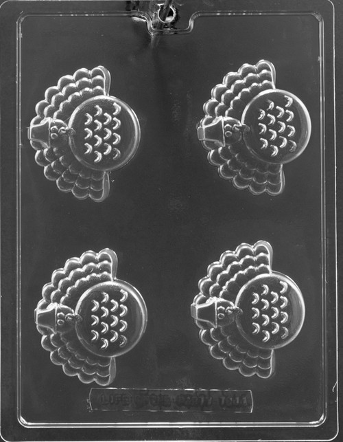 LOTP Turkey Cookie Chocolate Mold T044
