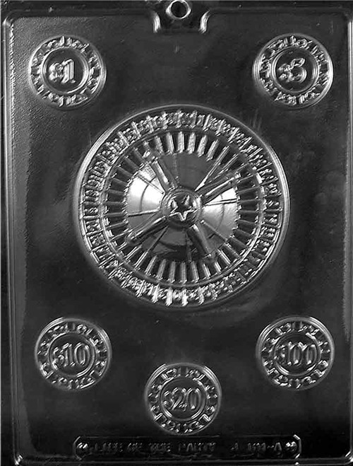 LOTP Casino Roulette Chocolate Mold J101A