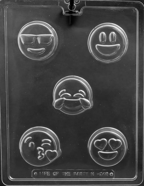 LOTP Emoji Cookie Chocolate Mold M249