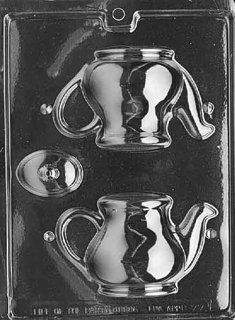 LOTP Tea Pot Chocolate Mold D077