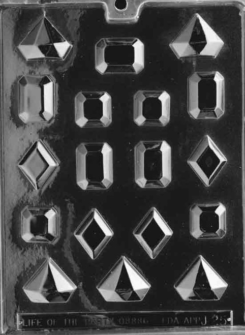 LOTP Jewels Chocolate Mold J025