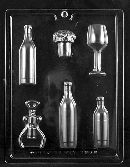LOTP Wine Kit Chocolate Mold M206