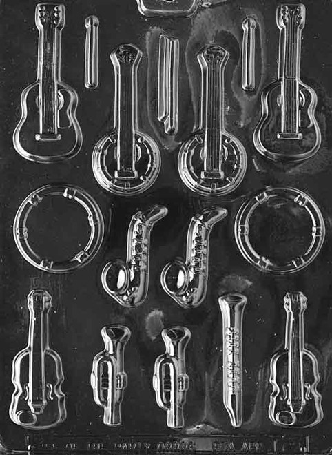 LOTP Musical Instruments Chocolate Mold J062
