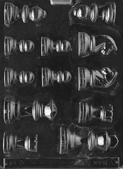 LOTP Chess Pieces Chocolate Mold M033