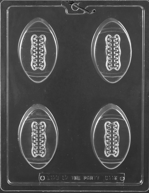 LOTP Football Cookie Chocolate Mold S118