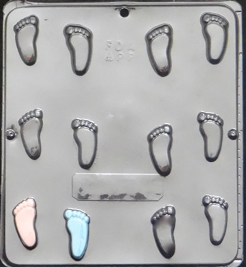 CML Baby Feet Chocolate Mold 689