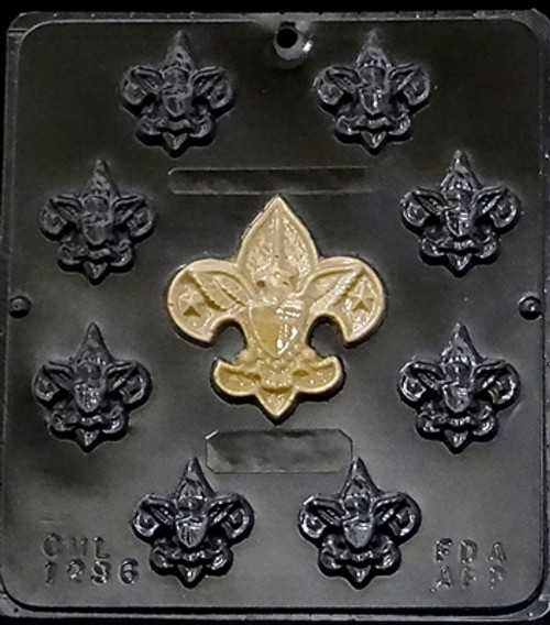 CML Boy Scout Assortment Chocolate Mold 1296