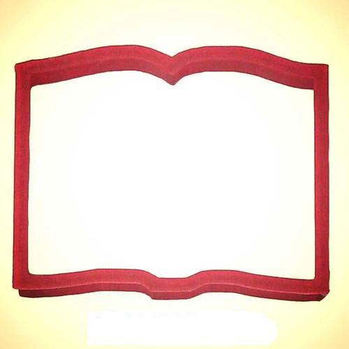 OTBP Plastic Book Cookie Cutter PC0283