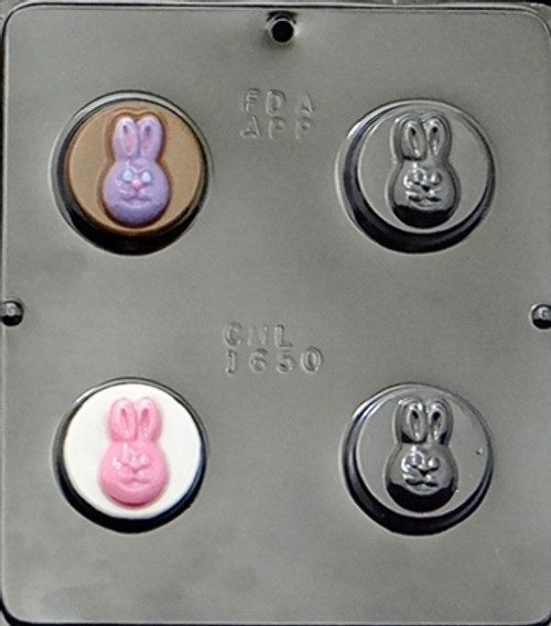 CML Bunny Face Chocolate Mold 1650