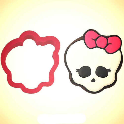 OTBP Plastic Monster Skull Cookie Cutter PC0310