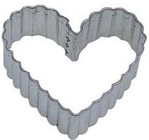 OTBP Crinkled Heart Cookie Cutter B1144X