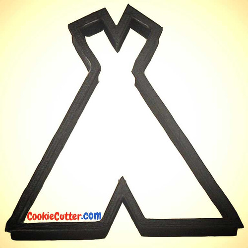 OTBP Plastic Teepee Cookie Cutter PC0249