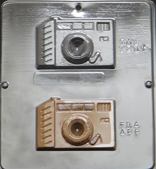 CML Camera Chocolate Mold 1207