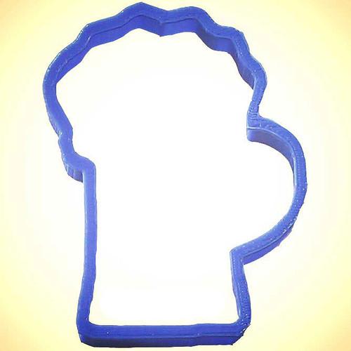OTBP Plastic Beer Mug Cookie Cutter PC0159
