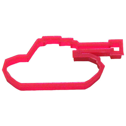 OTBP Plastic Army Tank Cookie Cutter PC0257