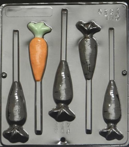 CML Carrot Pop Chocolate Mold 1825