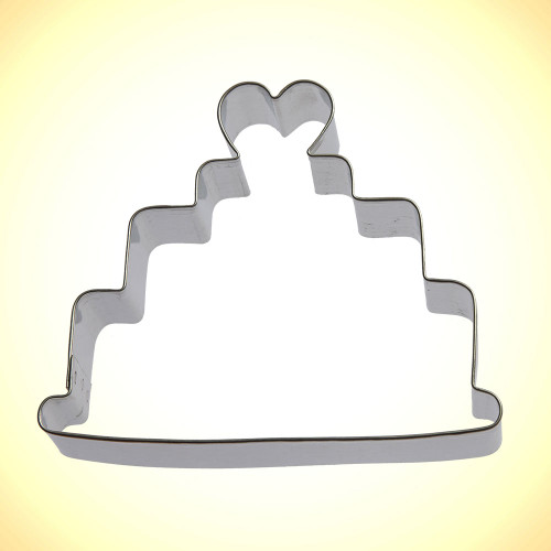 OTBP Wedding Cake Cookie Cutter B1345