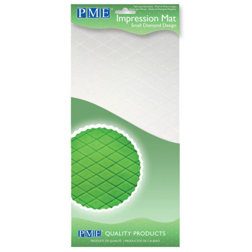 PME Small Diamond Impression Mat IM184