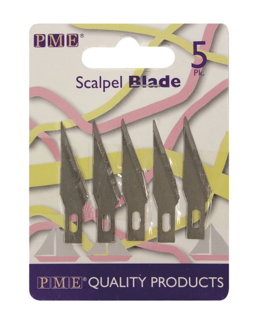 PME 5pc Spare Blades for Craft Knife Scalpel PME7S