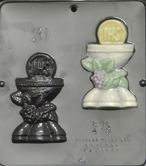 CML Chalice Chocolate Mold 419