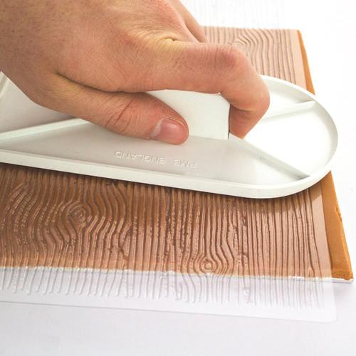 PME Bark Design Impression Mat IM189