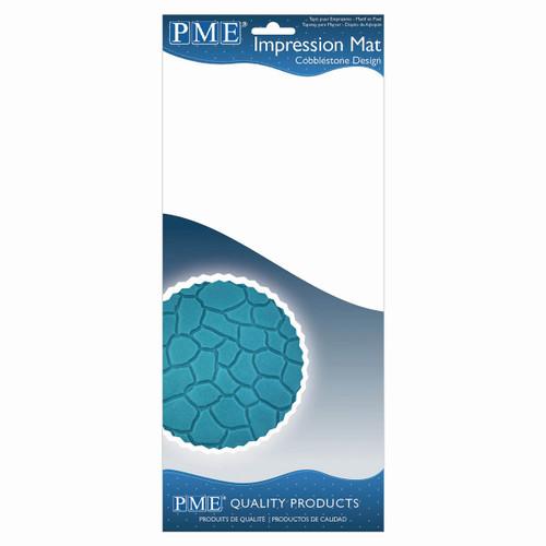 PME Cobblestone Design Impression Mat IM190