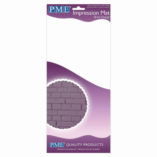 PME Brick Design Impression Mat IM188