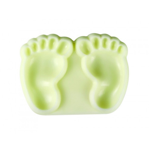PME 2ct Baby Feet Plastic Push Molds 1102EP002