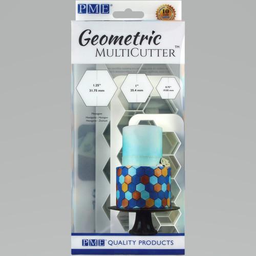 PME 3pc Hexagon Geometric Multicutter GMC104