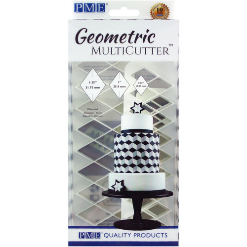 PME 3pc Diamond Geometric Multicutter GMC134