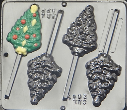 CML Christmas Tree Pop Chocolate Mold 2047