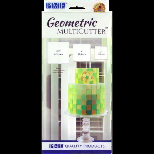 PME 3pc Square Geometric Multicutter GMC144