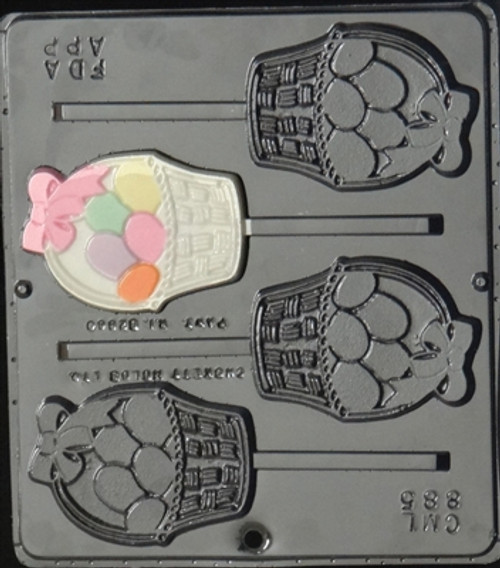 CML Egg Basket Pop Chocolate Mold 885