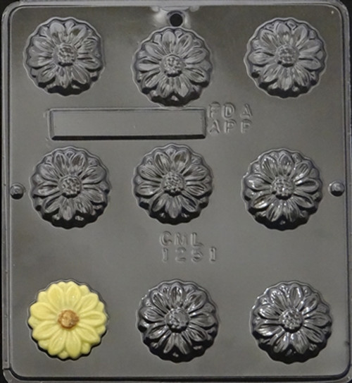 CML Flowers Chocolate Mold 1251