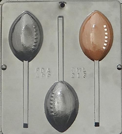 CML Football Pop Chocolate Mold 213