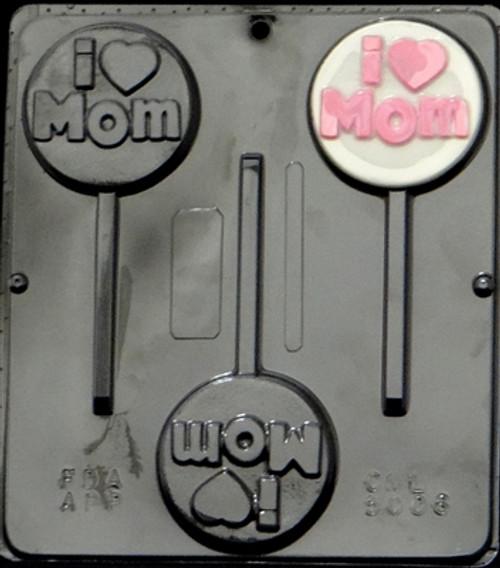 CML I Love Mom Pop Chocolate Mold 5006