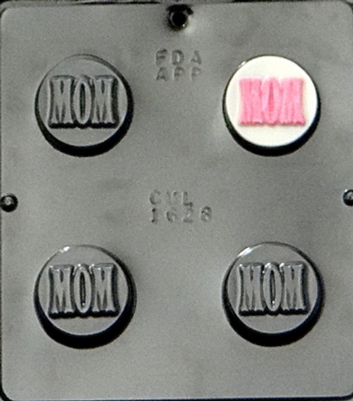 CML Mom Cookie Chocolate Mold 1628