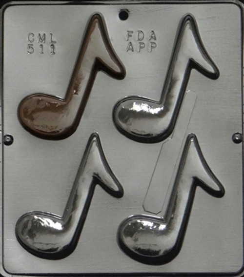 CML Musical Note Chocolate Mold 511