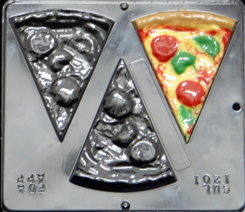 CML Pizza with Everything Chocolate Mold 1201