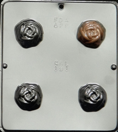 CML Rose Truffle Chocolate Mold 191