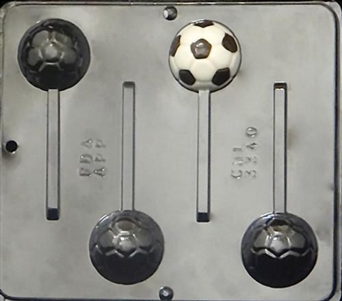 CML Soccer Ball Pop Chocolate Mold 3340