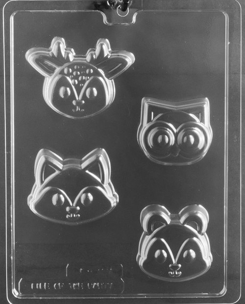 LOTP Woodland Animal Face Cookie A157