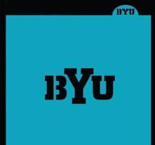 TCC Brigham Young University BYU Stencil