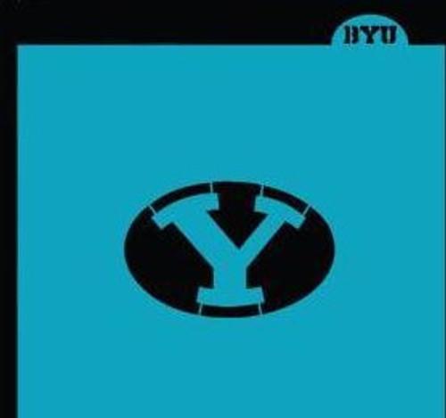"""TCC BYU """"Y"""" Stencil"""