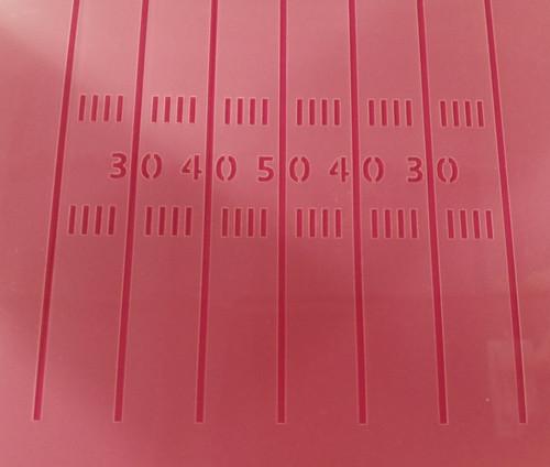 TCC Football Field Lines Stencil STN-0164