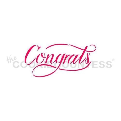 TCC Congrats Stencil