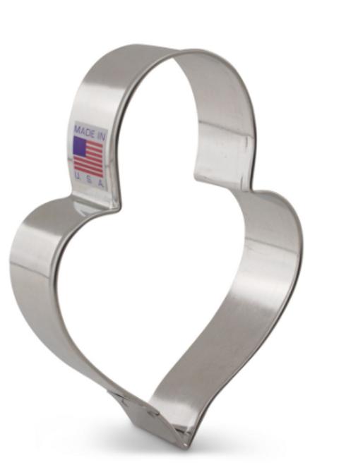 AC LilaLoa's Padlock Heart Cookie Cutter 7969A